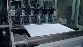 Unwinding papier dla ciąć prawego rozmiar 2 zdjęcie wideo