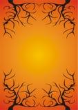 Unwirklicher Baum-Rand Stockbild