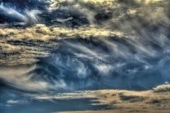Unwirklicher Himmel Stockfotos