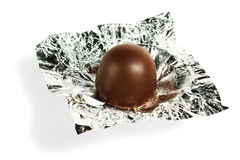 Unwrappered Chocolate Candy Royalty Free Stock Image