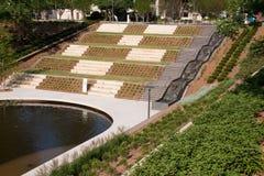 Unzählige Gärten im Oklahoma City Stockbilder
