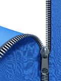 Unzip fabric. 3d rendering of the unzipping wall Royalty Free Stock Images