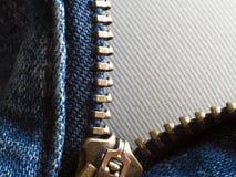 Unzip Jean Royalty Free Stock Photo