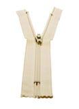 Unzipped застежка -молния Стоковое Фото