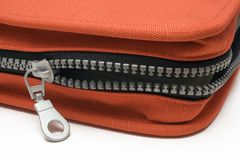 Unzipped CD Bag Stock Image