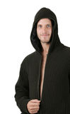 Unzipping Hoody Stock Photography