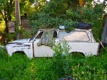 Unzweckmäßiges Auto Lizenzfreies Stockfoto