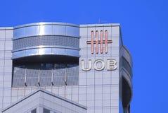 UOB United Overseas Bank. Logo Royalty Free Stock Photography
