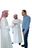 Uomini arabi Fotografia Stock Libera da Diritti