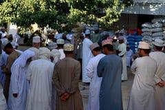 Uomini arabi al mercato Fotografie Stock Libere da Diritti