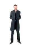 Uomini in cappotto Immagine Stock