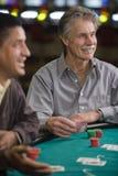 Uomini che giocano a Las Vegas Immagine Stock Libera da Diritti