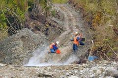 Indagine riflettente sismica Fotografia Stock Libera da Diritti