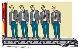 Uomini clonati royalty illustrazione gratis