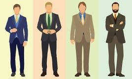 Uomini d'affari alla moda Immagini Stock