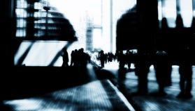 Uomini d'affari della città di Londra Fotografie Stock