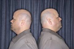 Uomini del gemello identico. fotografia stock libera da diritti