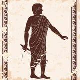 Uomini del greco antico royalty illustrazione gratis