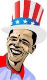 Uomini dell'americano di sorriso Fotografia Stock Libera da Diritti