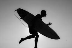 Uomini dell'ombra Fotografia Stock Libera da Diritti