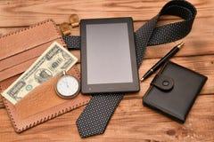 Uomini di affari degli accessori Fotografia Stock