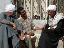 Uomini di conversazione Fotografia Stock Libera da Diritti