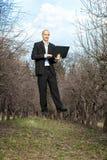 Uomini di levitazione Fotografie Stock