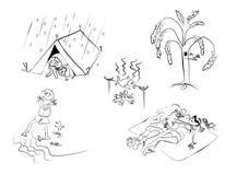 Uomini-emosion Royalty Illustrazione gratis