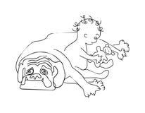 Uomini-emosion Illustrazione Vettoriale