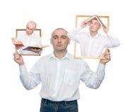 Uomini intelligenti Fotografia Stock