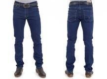 Uomini in pantaloni dei jeans Immagini Stock