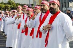 Uomini sciiti turchi che si addolorano giorno di Ashura Fotografie Stock