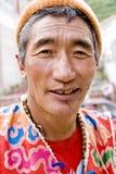 Uomo 2 del Tibet Fotografie Stock