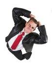 Uomo #21 di affari Immagini Stock Libere da Diritti