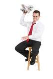 Uomo #23 di affari Fotografia Stock