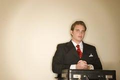 Uomo 7 di affari Fotografia Stock