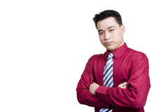 Uomo in abbigliamento di affari Fotografia Stock