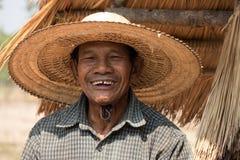 Uomo adulto senior asiatico Immagini Stock Libere da Diritti