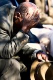 Uomo africano anziano Immagine Stock