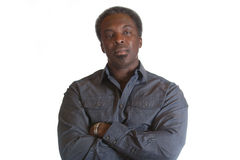 Uomo afroamericano Immagine Stock