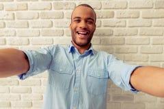Uomo afroamericano Fotografia Stock Libera da Diritti
