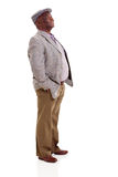 Uomo afroamericano anziano Fotografia Stock Libera da Diritti