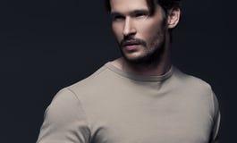 Uomo alla moda Fotografia Stock
