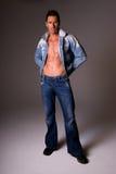 Uomo alla moda. Fotografie Stock Libere da Diritti