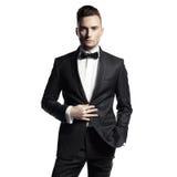 Uomo alla moda bello Immagini Stock