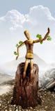 Uomo ambientale Fotografia Stock Libera da Diritti