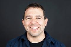 Uomo amichevole sorridente Immagine Stock