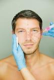 Uomo antinvecchiamento Fotografia Stock