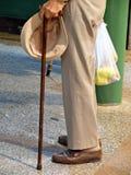 Uomo anziano Fotografie Stock Libere da Diritti