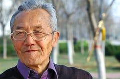 Uomo anziano Fotografia Stock Libera da Diritti